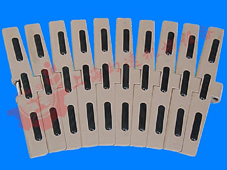 莱克斯诺塑料链板在国内的应用