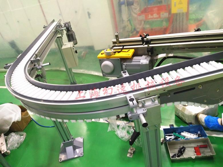 滚珠齿形链板柔性线在日用化工领域的应用