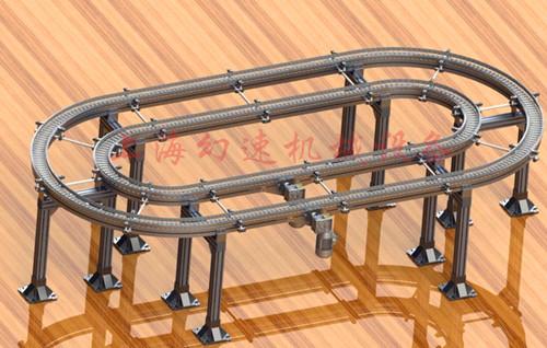 63柔性链环形线